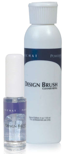 Lechat DESIGN BRUSH WITH CLEANER 1/3 oz