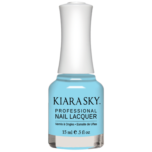 Kiara Sky All In One Nail Lacquer 0.5 oz Baby Boo N5068