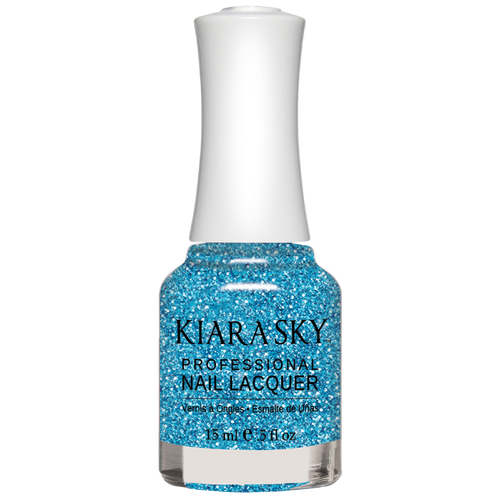 Kiara Sky All In One Nail Lacquer 0.5 oz Blue Lights N5071