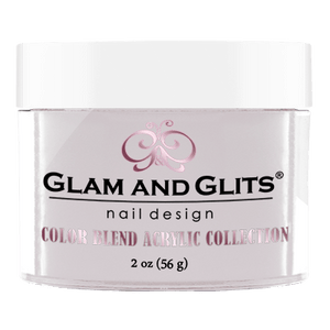Glam & Glits Acrylic Powder Color Blend Stripped 2 Oz- Bl3034-Beauty Zone Nail Supply
