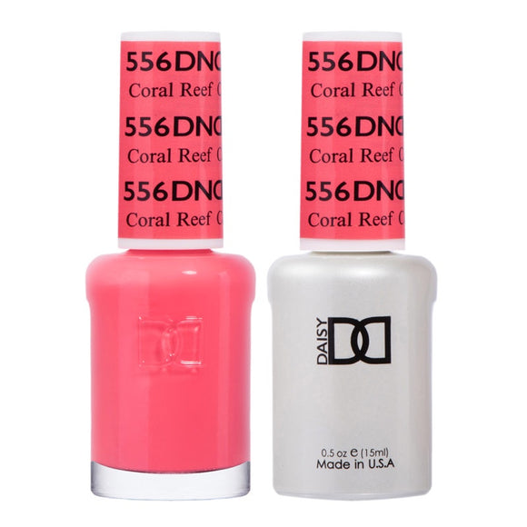 DND Duo Gel & Lacquer Coral Reef #556