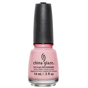 China Glaze Lacquer Go Go Pink 0.5 oz #70229-Beauty Zone Nail Supply