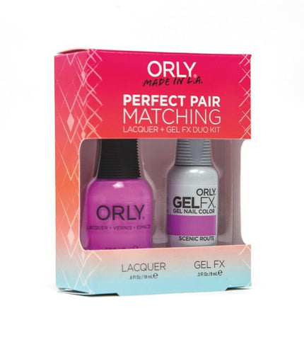 Orly Duo Scenic Route (Lacquer + Gel) .6oz / .3oz