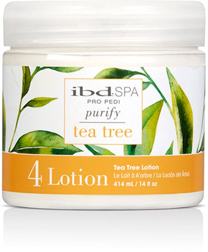 Ibd Spa Lotion – Tea Tree Purifying 14 oz