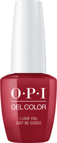 OPI GelColor I LOVE YOU JUST BE-CUSCO #GCP39