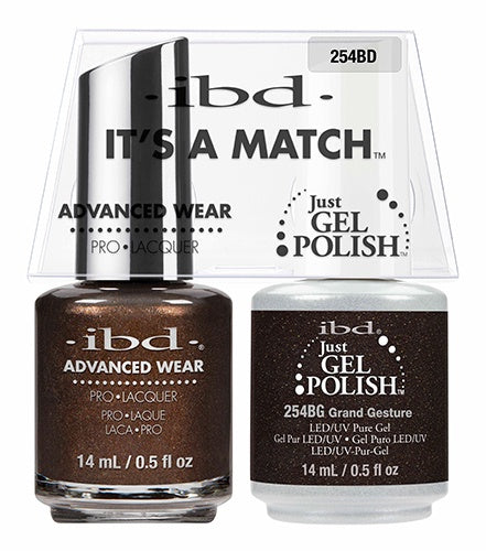 ibd Advanced Wear Color Duo Grand Gesture 1 PK-Beauty Zone Nail Supply