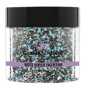 Glam & Glits Matte Acrylic Powder 1 oz Bahama Splash-MAT603