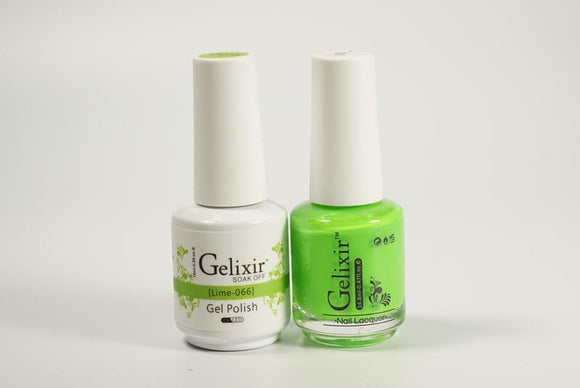 Gelixir Duo Gel & Lacquer Lime 1 PK #066