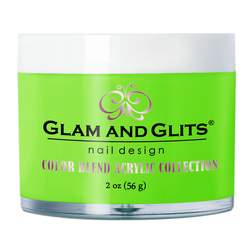 Glam & Glits Acrylic Powder Color Blend (Cream) 2 oz Citrus Kick - BL3069-Beauty Zone Nail Supply