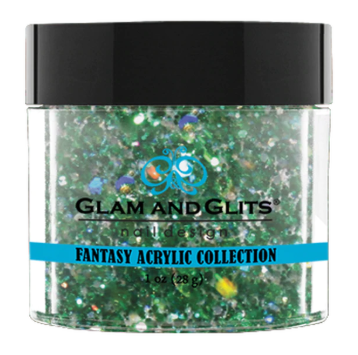 Glam & Glits Fantasy Acrylic (Glitter) 1 oz Ever Green- FAC526