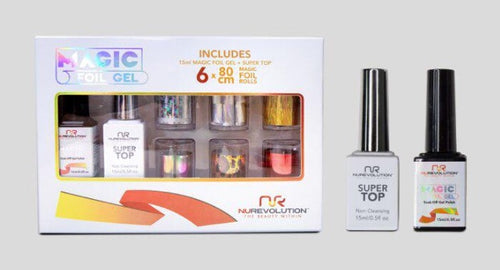 Nurevolution Magic Foil Gel set (6 foils) Set