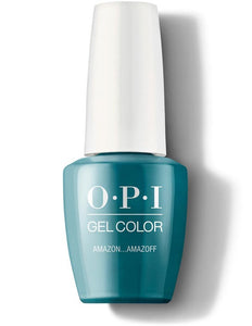OPI GelColor Teal The Cows Come Home #GCB54