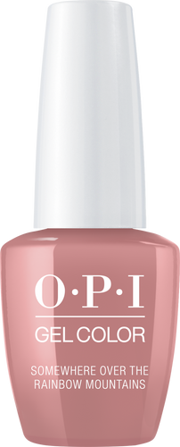 OPI GelColor SOMEWHERE OVER THE RAINBOW MOUNTAINS #GCP37