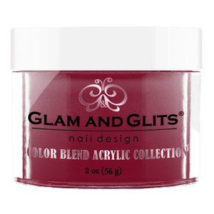 Glam & Glits Acrylic Powder Color Blend Berry Special 2 Oz- Bl3041-Beauty Zone Nail Supply