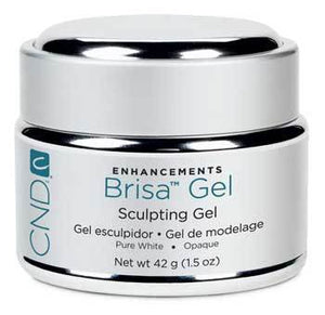 Cnd Brisa Pure White 1.5 Oz #08062