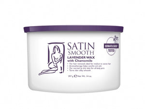 Satin Smooth Lavender Wax #Ssw14Lwg-Beauty Zone Nail Supply