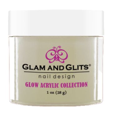 Glam & Glits Glow Acrylic (Cream) 1 oz De-Lighted - GL2002