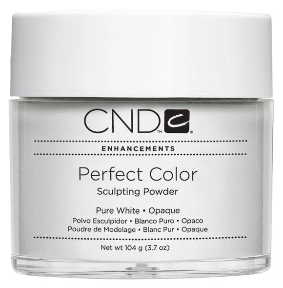 Cnd Powder Pure White 3.7 Oz #03052-4