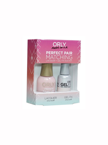 Orly Duo Rose-Colored Glasses (Lacquer + Gel) .6oz / .3oz 31129-Beauty Zone Nail Supply