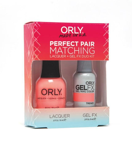 Orly Duo Trendy (Lacquer + Gel) .6oz / .3oz 31179-Beauty Zone Nail Supply