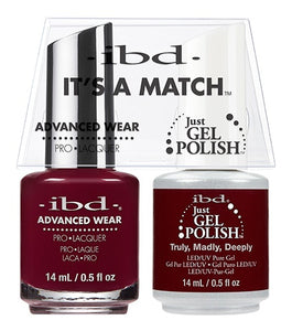 ibd Advanced Wear Color Duo Truly, Madly, Deeply 1 PK-Beauty Zone Nail Supply