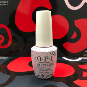 OPI Gelcolor - Let's Celebrate! HPL03