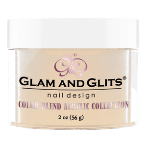 Glam & Glits Acrylic Powder Color Blend Melted Butter 2 Oz- Bl3012-Beauty Zone Nail Supply