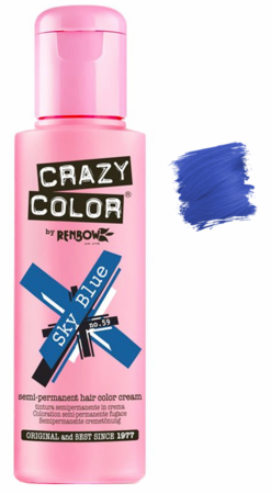 Crazy Color vibrant Shades -CC PRO 59 SKY BLUE 150ML-Beauty Zone Nail Supply