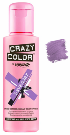 Crazy Color vibrant Shades -CC PRO 54 LAVENDER 150ML-Beauty Zone Nail Supply