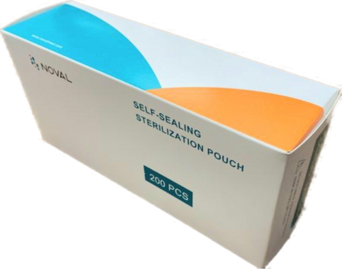 Noval Sterilizer Pouch Small 200pcs / box