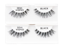 Load image into Gallery viewer, Ardell Strip Lash Natural Demi Wispies 6-Pack Black #60066-Beauty Zone Nail Supply