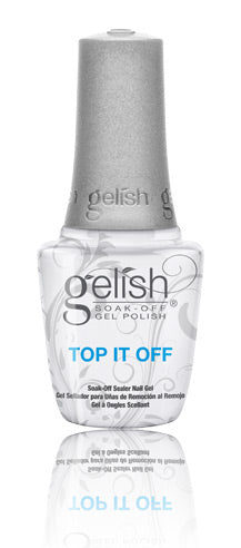 Gelish Top Coat Sealer Gel 0.5 oz #1310003