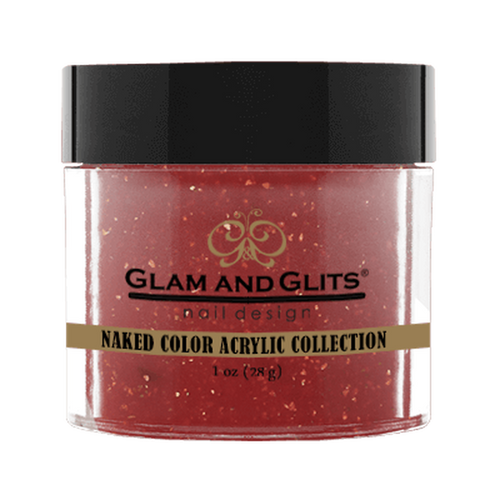 Glam & Glits Naked Color Acrylic Powder (Shimmer) 1 oz Charisma - NCAC441