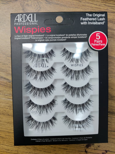 Ardell 5 Pack Wispies 68984-Beauty Zone Nail Supply
