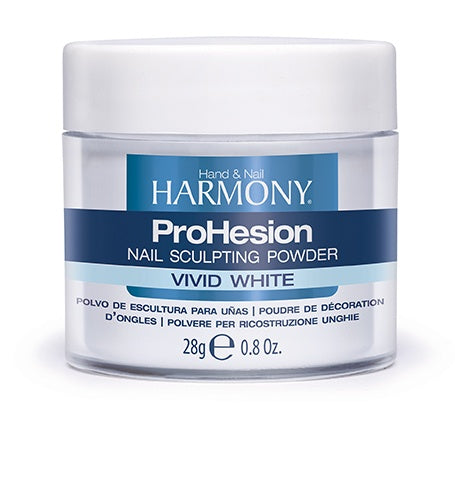 Harmony ProHesion Nail Powder Vivid White-Beauty Zone Nail Supply