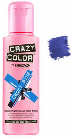 Crazy Color vibrant Shades -CC PRO 44 CAPRI BLUE 150ML