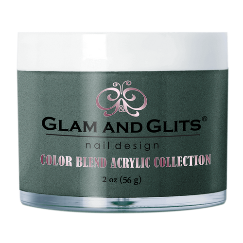 Glam & Glits Acrylic Powder Color Blend (Shimmer) 2 oz Secret Garden - BL3088-Beauty Zone Nail Supply