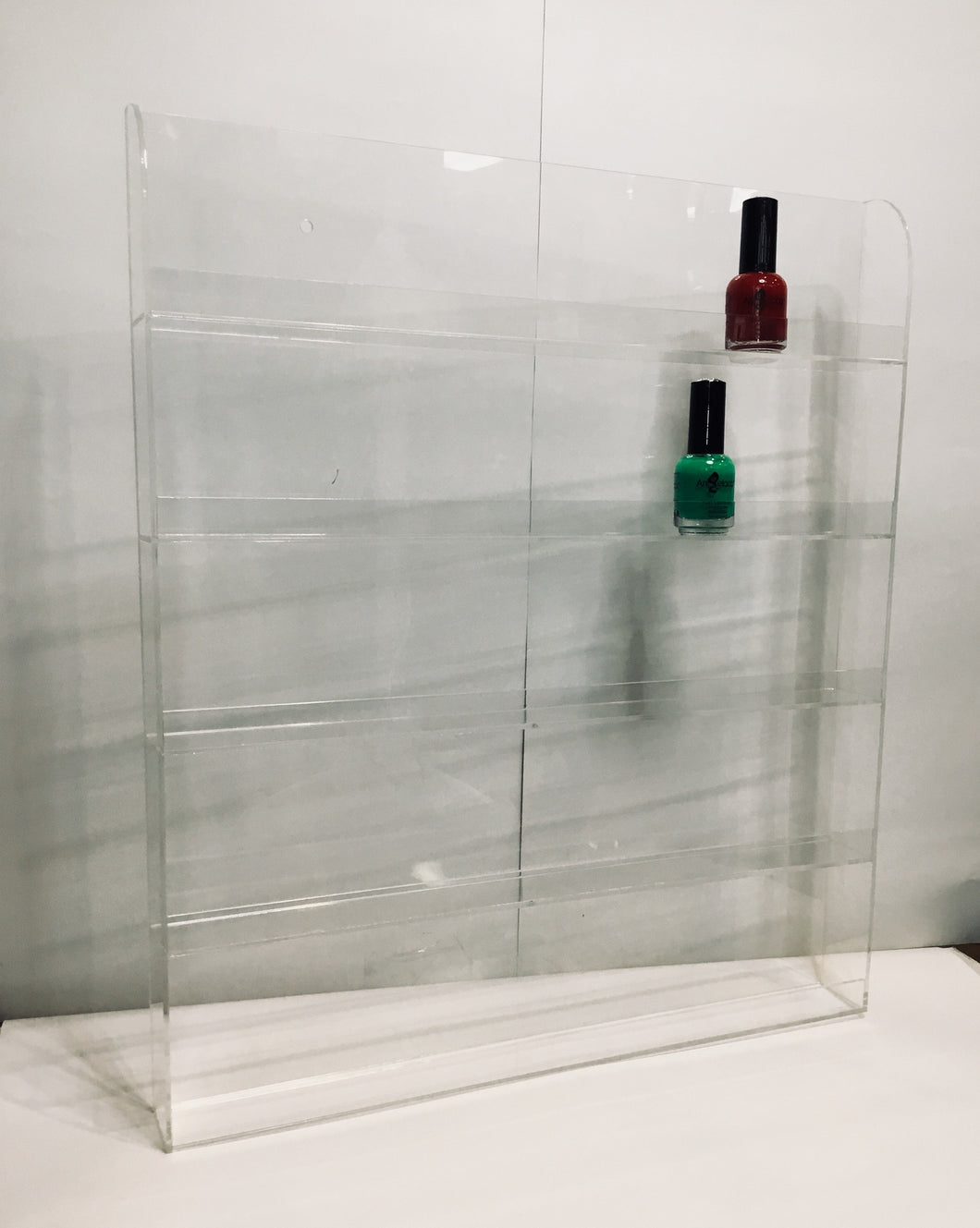 WR032 Wall Rack 60 Bottle WS-Beauty Zone Nail Supply