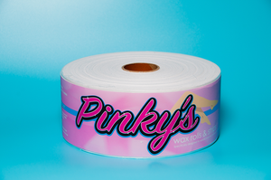 Pinky's bleached muslin roll 3.0in x 100 yards
