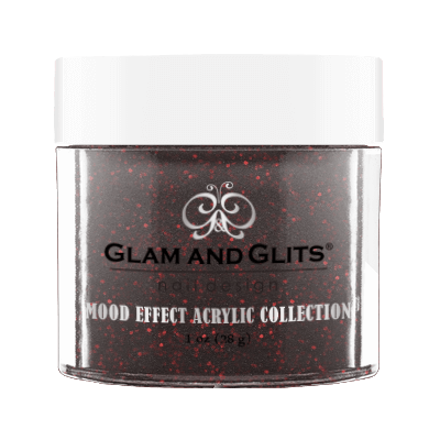 Glam & Glits Mood Acrylic Powder (Glitter) 1 oz  Backfire  - ME1019