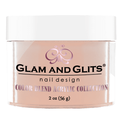 Glam & Glits Acrylic Powder Color Blend Birthday Suit 2 Oz- Bl3006-Beauty Zone Nail Supply