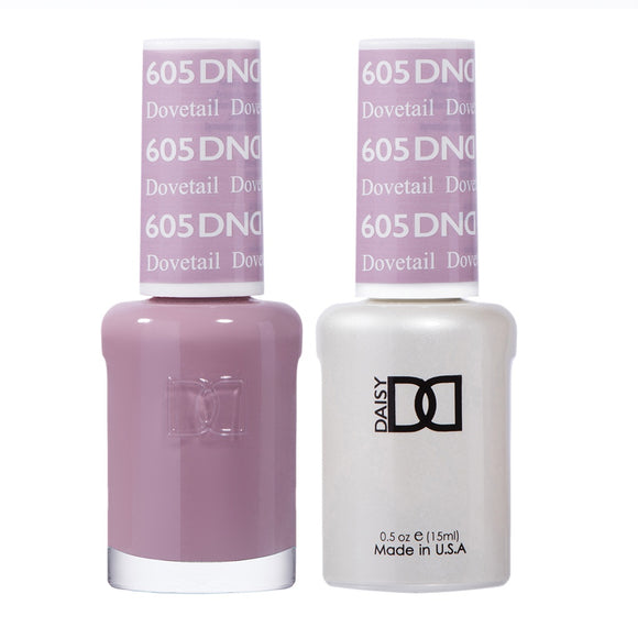 DND Duo Gel & Lacquer Dovetail #605