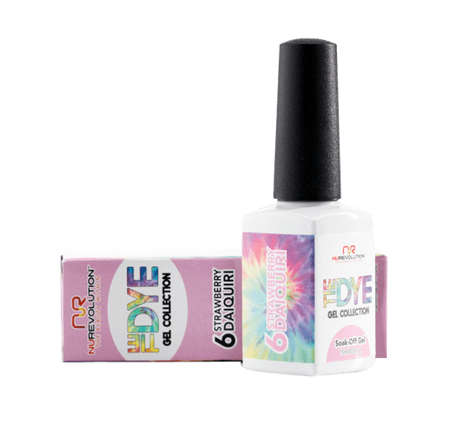 Nurevolution Tiedye Gel #06 Strawberry Daiquiri 15ml