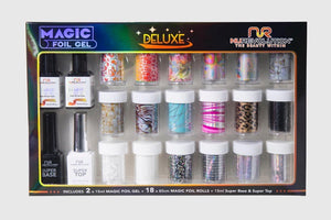 Nurevolution Magic Foil Deluxe Gel set (18 foils) Set