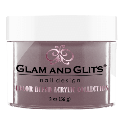 Glam & Glits Acrylic Powder Color Blend The Mauve Life 2 Oz- Bl3036