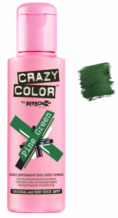 Crazy Color vibrant Shades -CC PRO 46 PINE GREEN 150ML