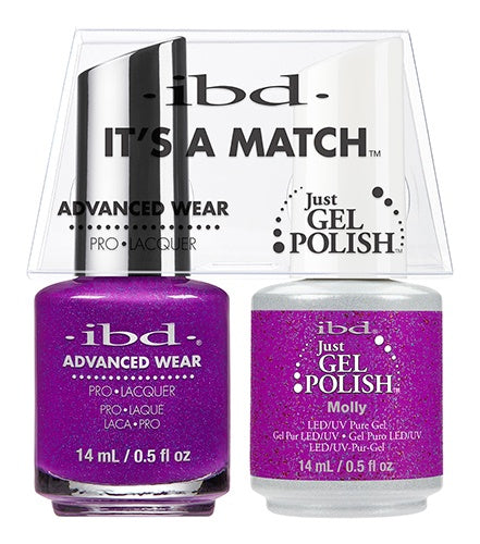 ibd Advanced Wear Color Duo Molly 1 PK-Beauty Zone Nail Supply