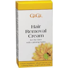 GIGI HAIR REMOVAL CREAM FOR THE FACE 1 OZ
