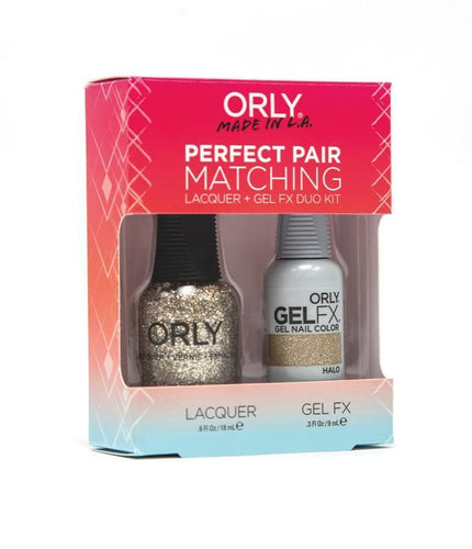 Orly Duo Halo ( Lacquer + Gel) .6oz / .3oz 31171-Beauty Zone Nail Supply