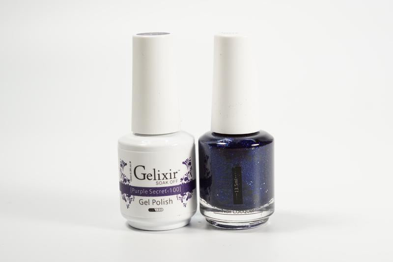 Gelixir Duo Gel & Lacquer Purple Secret 1 PK #100